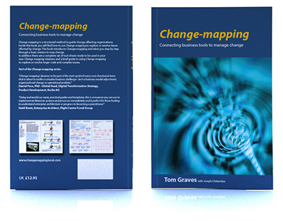 Change-mapping book design