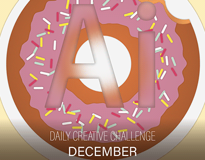 Illustrator Daily Creative Challenge - December