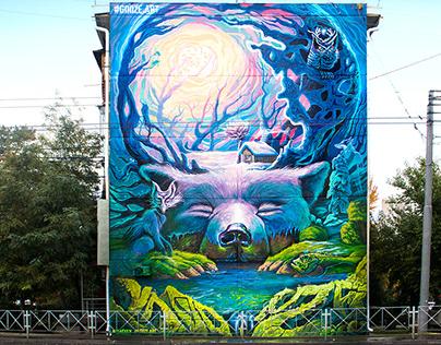 "mural ""Spring"