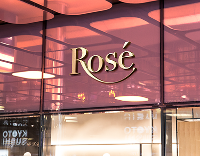 Rosé Jewellery Branding