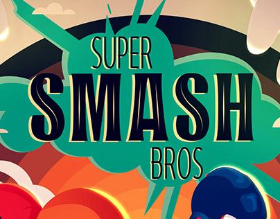 - Poster Super Smash Bros. -