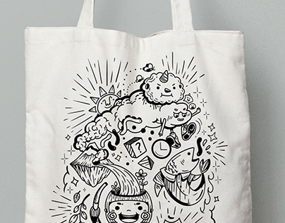 VSA-DSC Bag Silkscreen Design