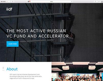 Англоязычный сайт фонда