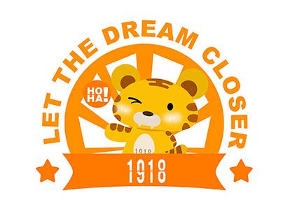 1918孵化器创意写字楼吉祥物设计