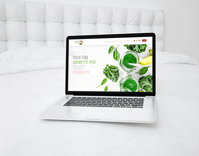 Służem Jarmużem - branding & web design