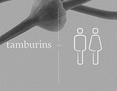 Tamburins Pictogram Design