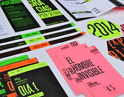 Sistema Tipográfico de un evento - ADOLESCIENCIA