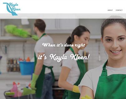 Kayla Kleen Website