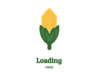 Corn Loading Animation