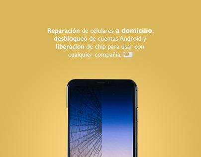 Phone repair home service