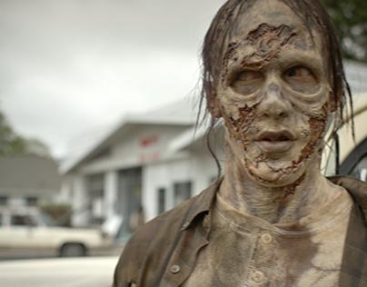 Hoosier Lottery - The Walking Dead Scratch-off Campaign