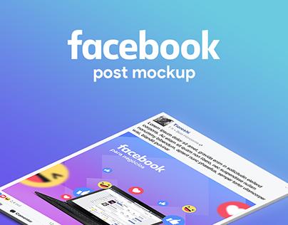 Facebook Post Mock-up