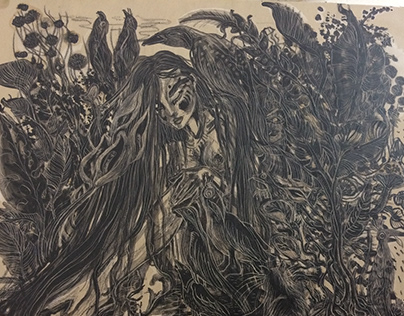 Lithograph 2: The Forest Sylph