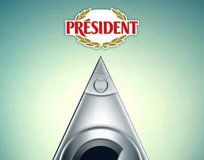 President Cheese & Toshiba