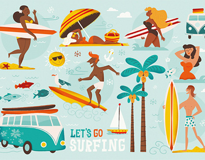 Let´s go Surfing!