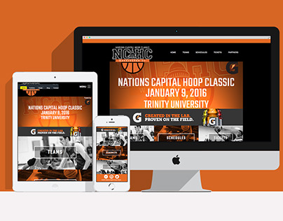 Client Work: NCHC Website