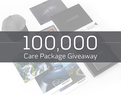 100,000+ Followers Instagram Care Package Giveaway