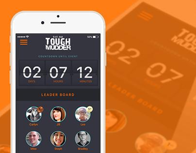 Tough Mudder Team iOS App