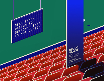 Design Village festival Identity and Posters