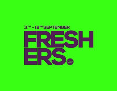 Fubar Nightclub Freshers branding