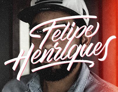 Caligrafia - Marca pessoal Felipe Henriques