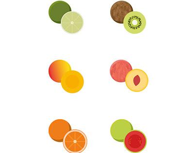 Ilustração - Frutas