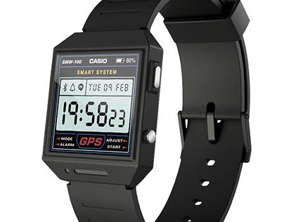CASIO Smartwatch Concept • Wearable