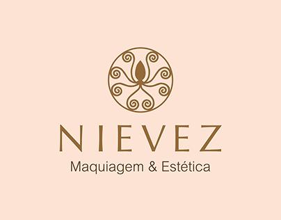 Logo - Nievez Maquiagem e Estética