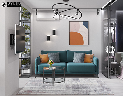 """APARTMENT IN THE RC """"LAZURNYY"""" DESIGN PROJECT"""