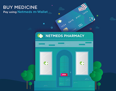 Buy Medicine - Pay using m-Wallet