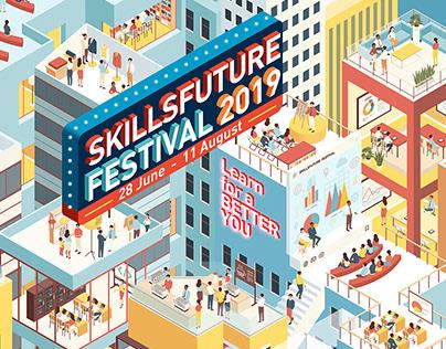 SKILLSFUTURE FESTIVAL Presented by SkillsFutureSG