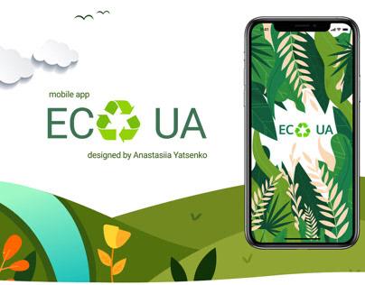 """Mobile App """"Eco UA"""""""