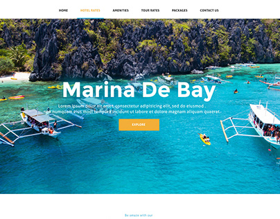 WEB DESIGN: Marina De Bay