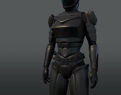 Vivixen Army Armor