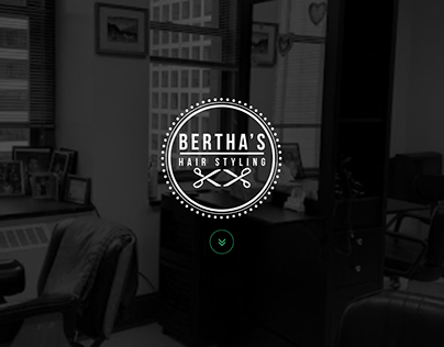 Revamp for Bertha's hair styling. Logo created as well.