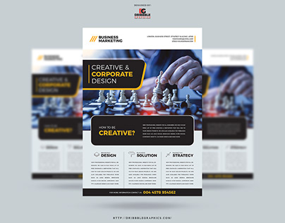 Free Business Marketing Flyer Template