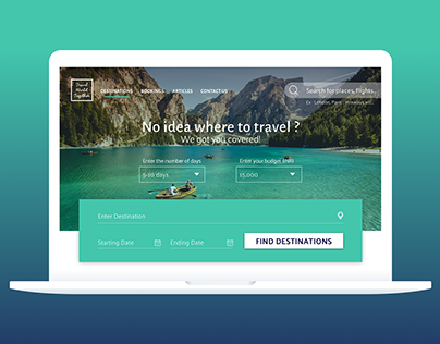 Travel World Together | Responsive Web Project