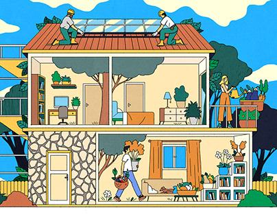 Que Choisir - Mettre sa maison au vert