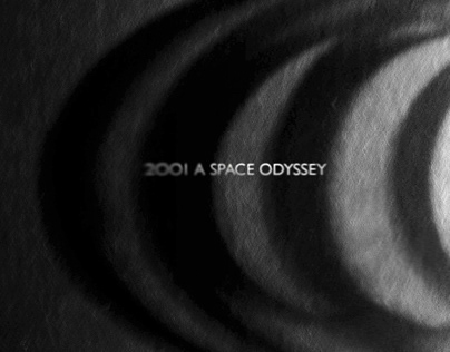 Space Odyssey Title Sequence