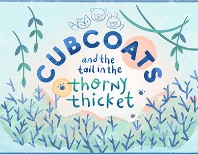 Cubcoat Island | Cubcoats Branding Illustration