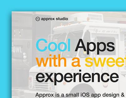 Approx Studio Website