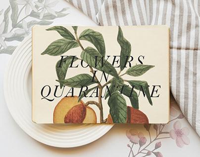 Flowers in quarantine - Botanical illustration