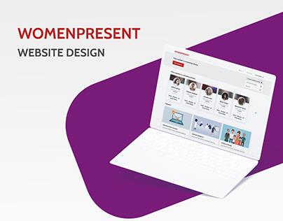 Women Present - Website design