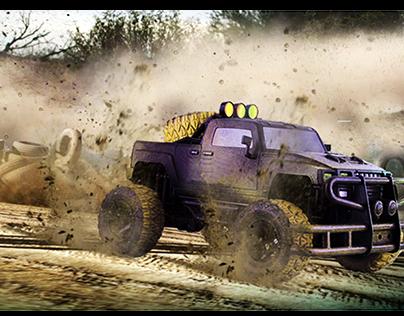 Super Racing Game