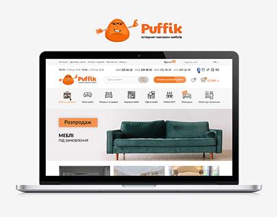 Интернет магазин мебели Puffik