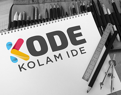 Logo and website design for kolamide.id