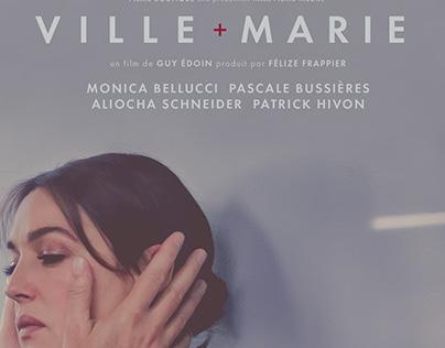 Affiche, film Ville+Marie, avec Monica Bellucci
