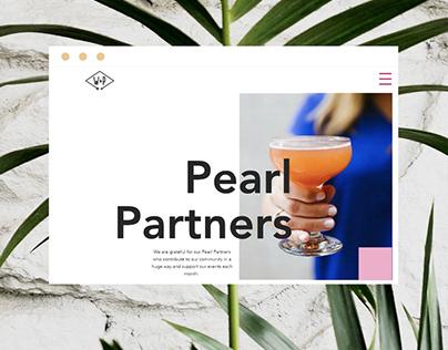 Whiskey & Pearls Website x Photoshoot