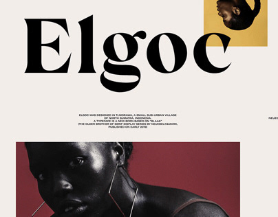 Elgoc Std & Alt - Free Typeface