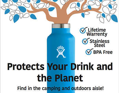 Hydro Flask Advertising Campaign